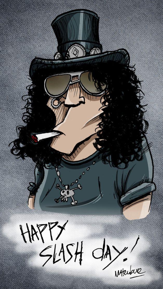 Slash 50 birthday