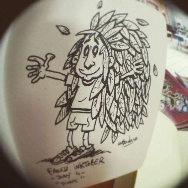 Inktober #04 - Sioux