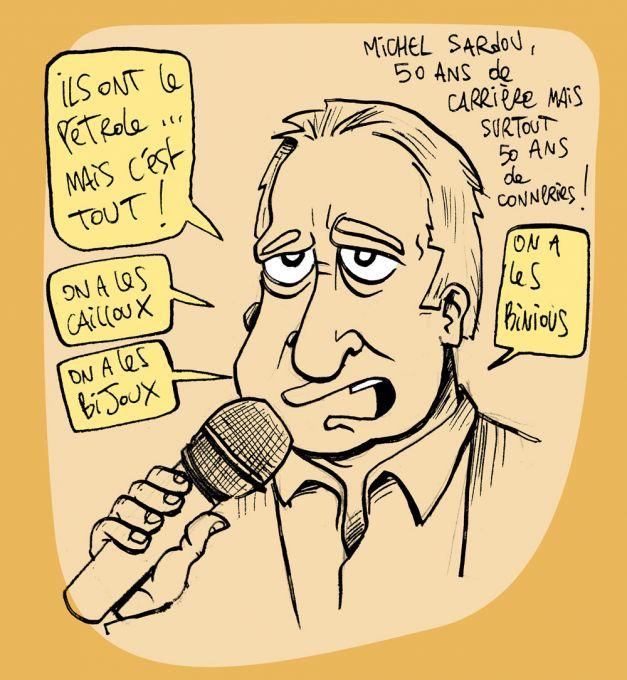 50 ans de carrière de Michel Sardou…