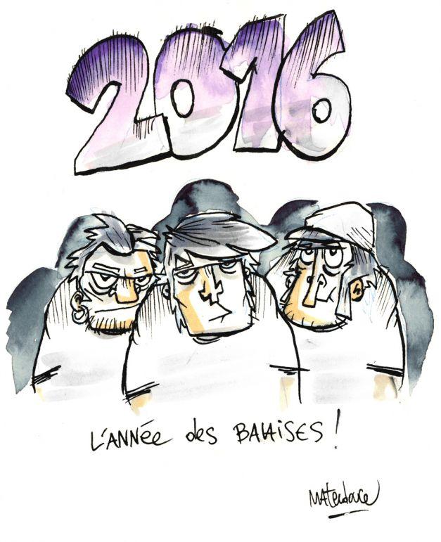 2016 l'année des balaises