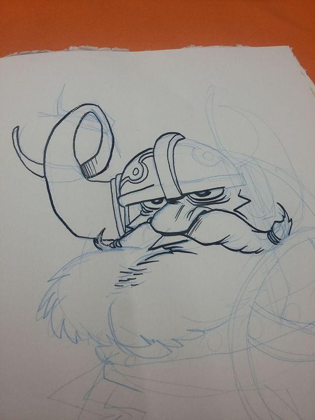 Vikings - Character Design Challenge WIP 01