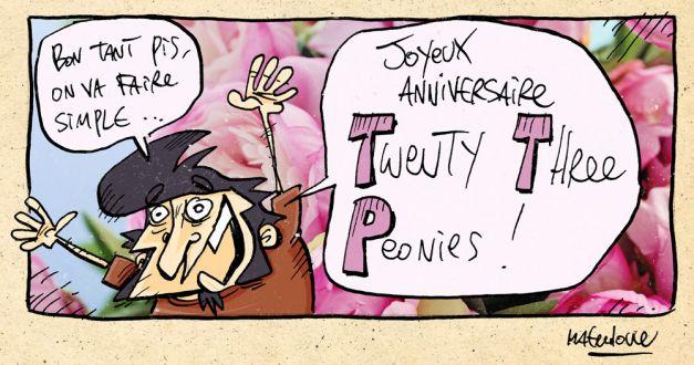 L'anniversaire de Twenty three peonies 03