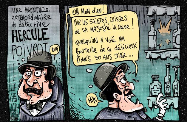 Hercule Poivrot poirot parodie 04