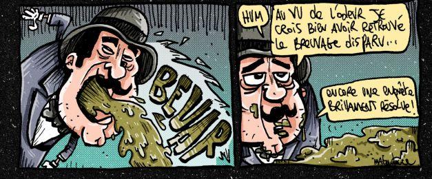 Hercule Poivrot poirot parodie 03