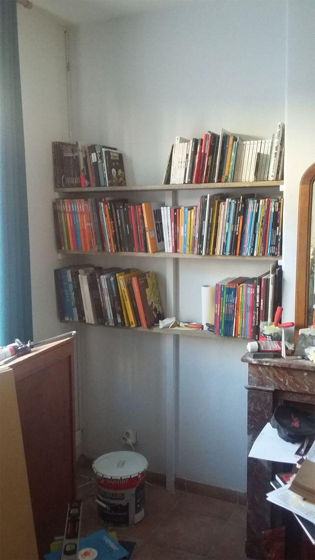BD Circumnavigation bibliothèque travaux
