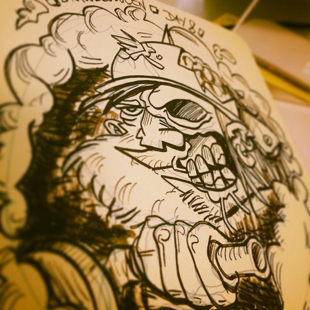 Croquis Drawlloween #08 - Zombie