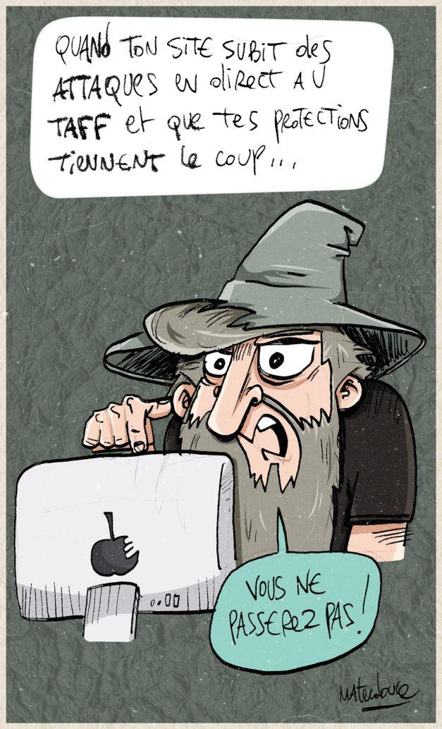 Vous ne passerez pas ! Gandalf le hacker