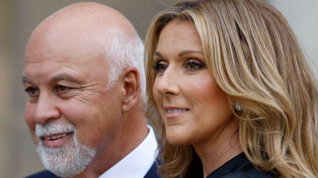 René Angélil et Céline Dion vieux
