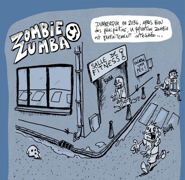 Zombie zumbla 01