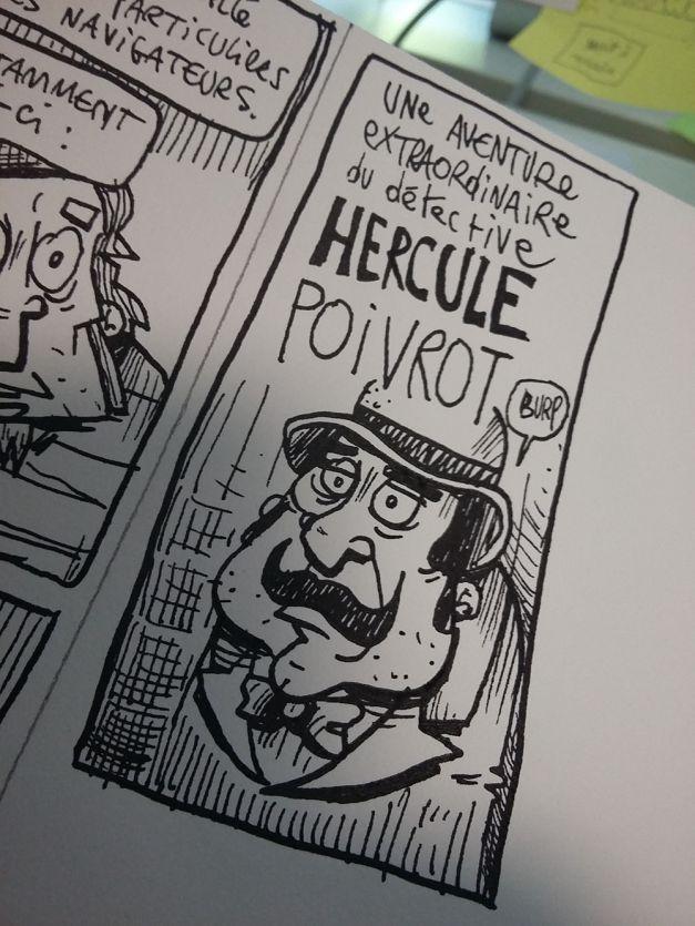Hercule Poivrot wip encrage