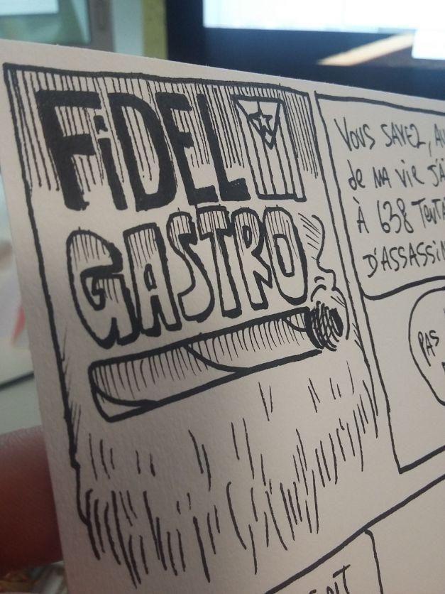 El Maximo Fidel Gastro WIP encrage